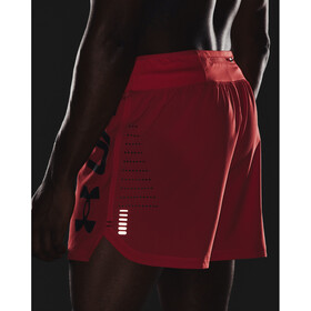 Under Armour Speedpocket 5 '' shorts Herrer, rød